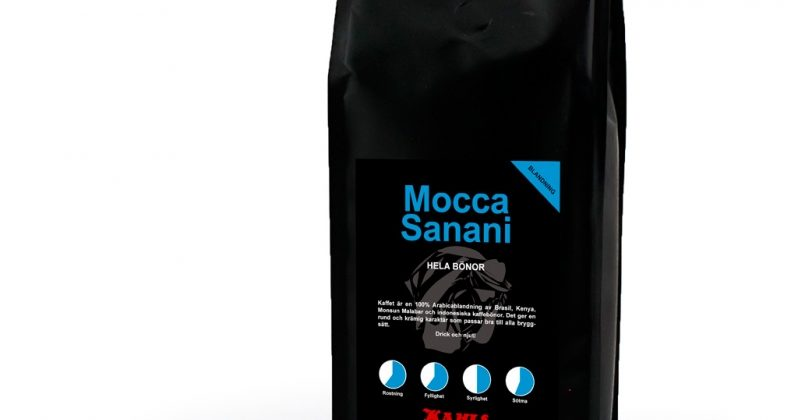 Mocca Sanani 1 kg Helt Kaffe ( UTZ )
