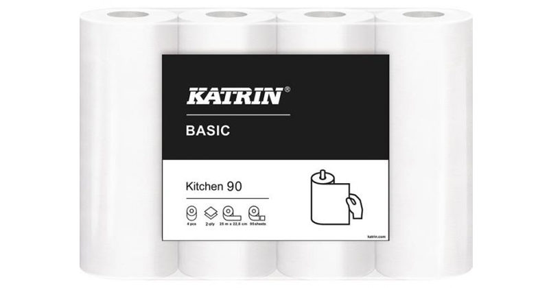 Kökspapper Katrin Basic Köksrulle