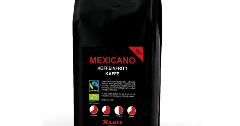 Mexicano Koffeinfritt Bryggmalet 250 g FT & Eko